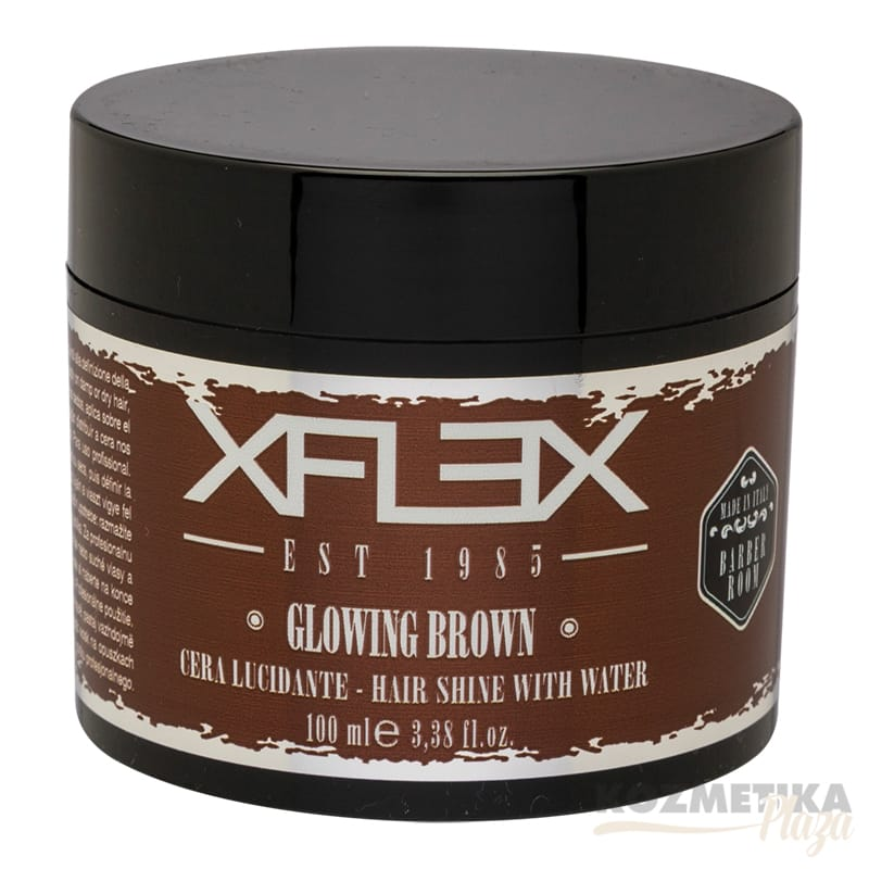 XFLEX Glowing Brown Hajfény Wax 100 ml