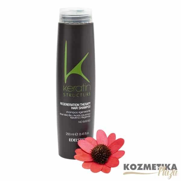 Keratin Structure Regeneráló Therapy Sampon 250 ml
